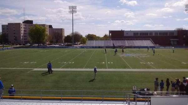Cope Stadium, section: D, row: 18, seat: 73