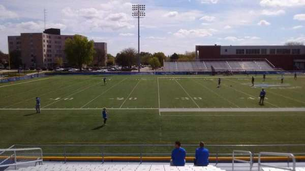 Cope Stadium, section: E, row: 17, seat: 100