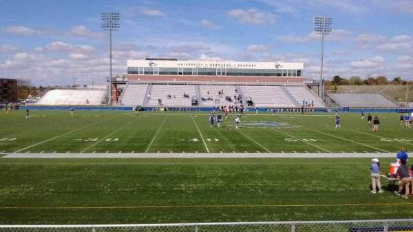 Cope Stadium, section: GA Visitors