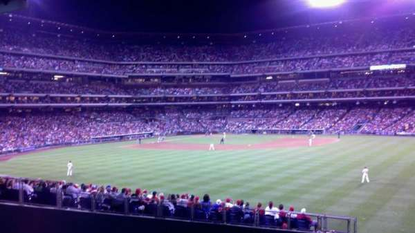 Citizens Bank Park, section: Bullpen