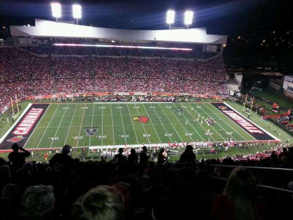 Cardinal Stadium, section: 8, row: AA, seat: 103