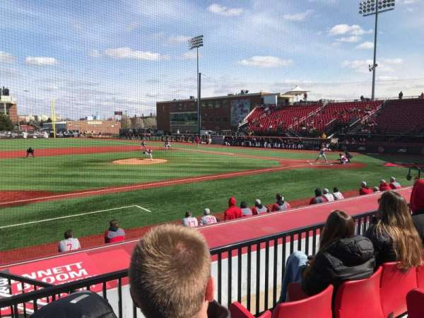 Jim Patterson Stadium, section: 212, row: C, seat: 115