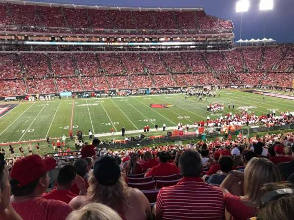 Papa John's Cardinal Stadium, section: 232, row: W, seat: 122