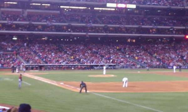 Citizens Bank Park, section: 109, row: 25, seat: 15