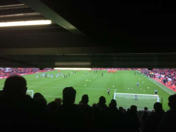 Anfield, section: 126, row: 34, seat: 159