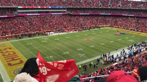 Arrowhead Stadium, section: 306, row: 6, seat: 15