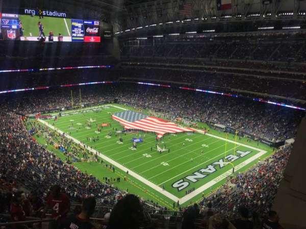 NRG Stadium, section: 601, row: M, seat: 9