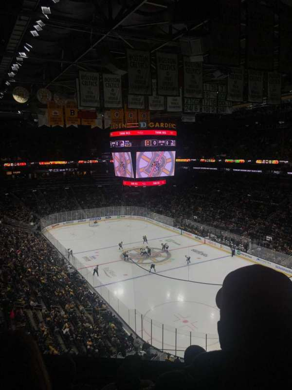TD Garden, section: BAL 311, row: 5, seat: 9