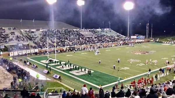 Peden Stadium, section: 111, row: 27, seat: 32