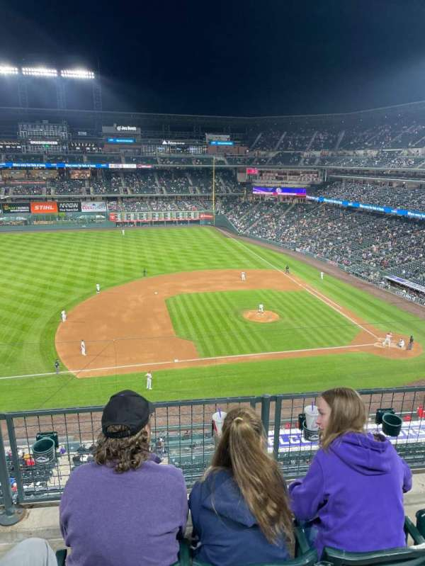 Coors Field, section: L342, row: 2, seat: 8