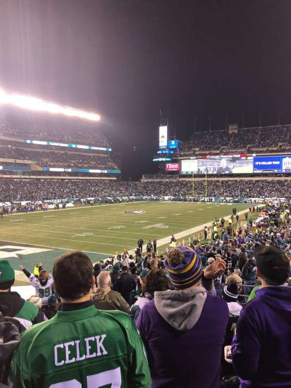 Lincoln Financial Field, section: 132, row: 26, seat: 15