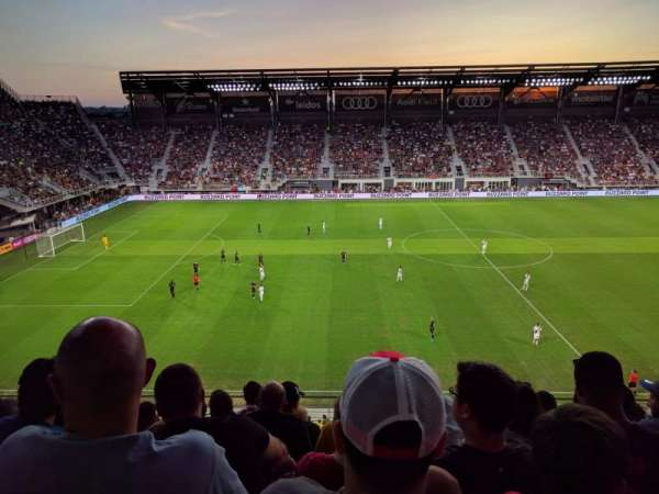Audi Field, section: 107, row: 6, seat: 15