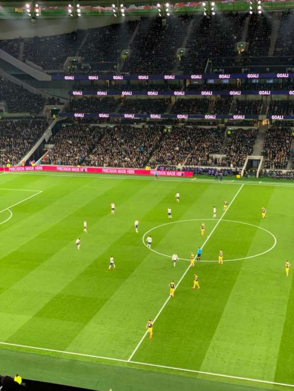Tottenham Hotspur Stadium, section: 525, row: 12, seat: 805