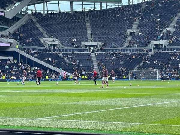 Tottenham Hotspur Stadium, section: 111, row: 2