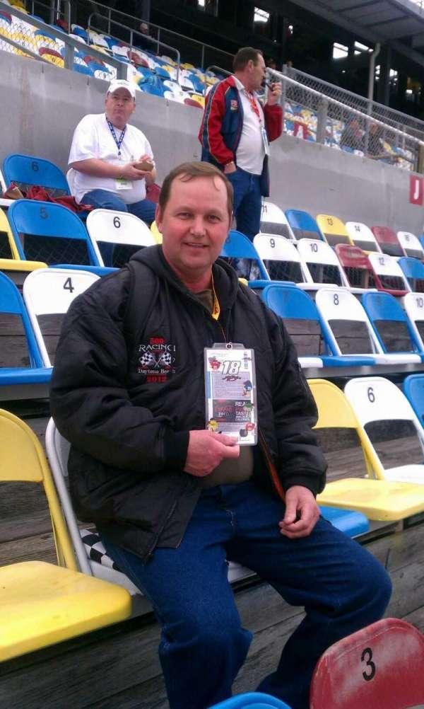 Daytona International Speedway, section: Roberts box, row: 19, seat: 4