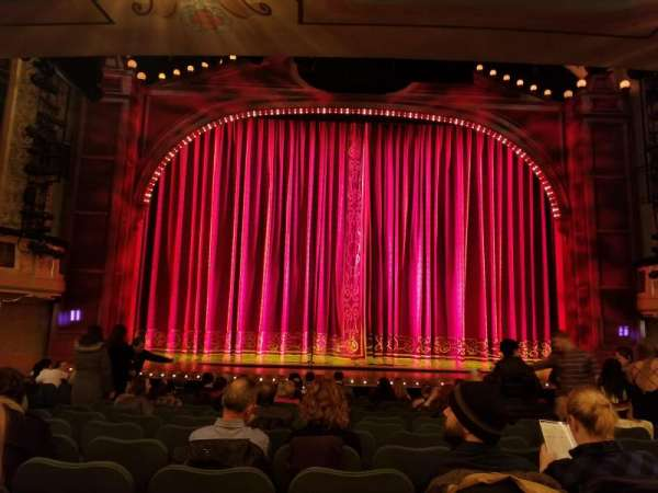 Shubert Theatre, section: Orchestra C, row: O, seat: 109