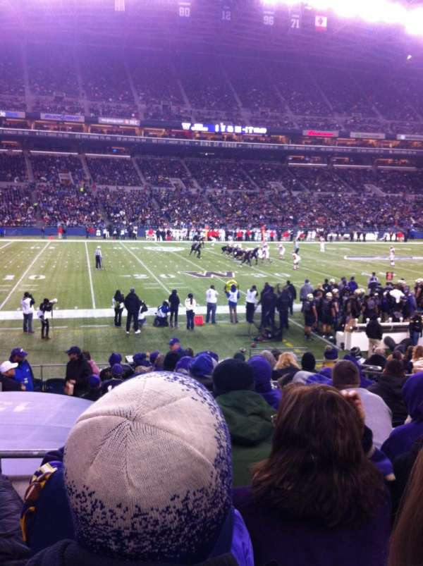 Centurylink Field, section: 138, row: P, seat: 7