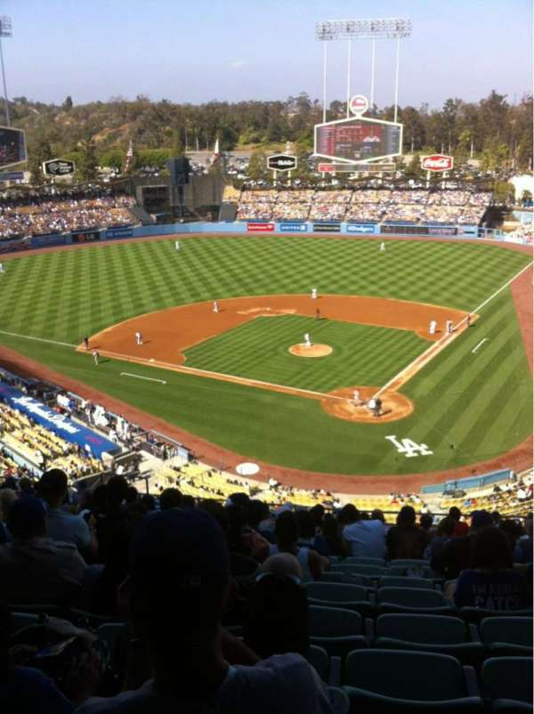 Dodger Stadium, section: 5RS, row: R, seat: 12