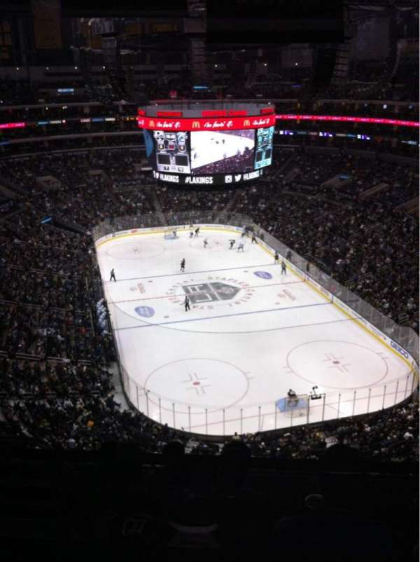 Staples Center, section: 328, row: 6, seat: 14