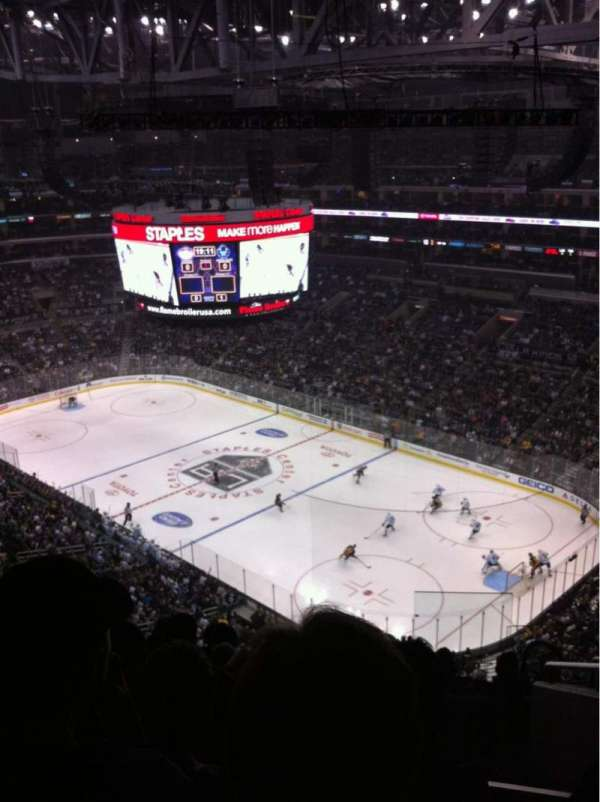Staples Center, section: 331, row: 8, seat: 3