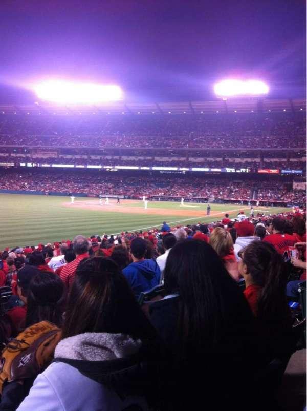 Angel Stadium, section: F104, row: W, seat: 8