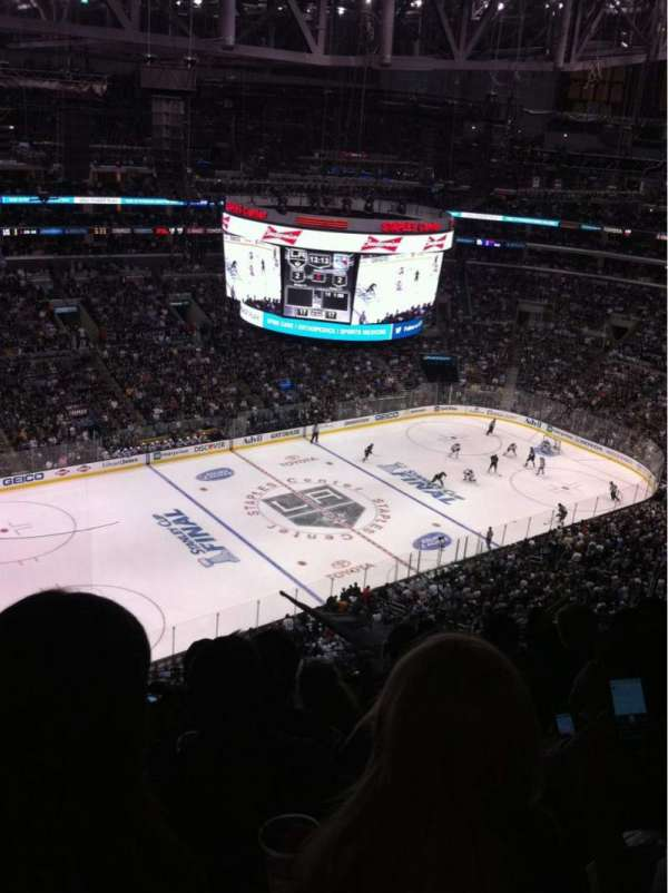 Staples Center, section: 321, row: 10, seat: 13