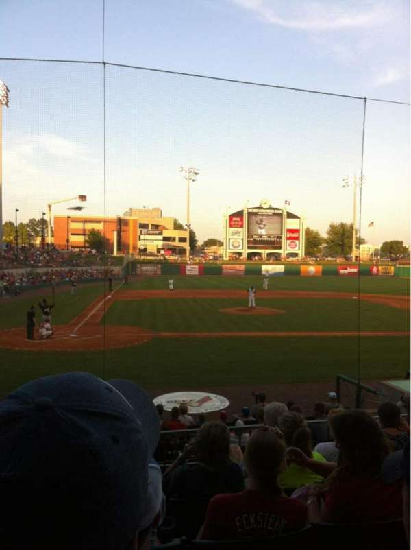 Dickey-Stephens Park, section: 207, row: F, seat: 13