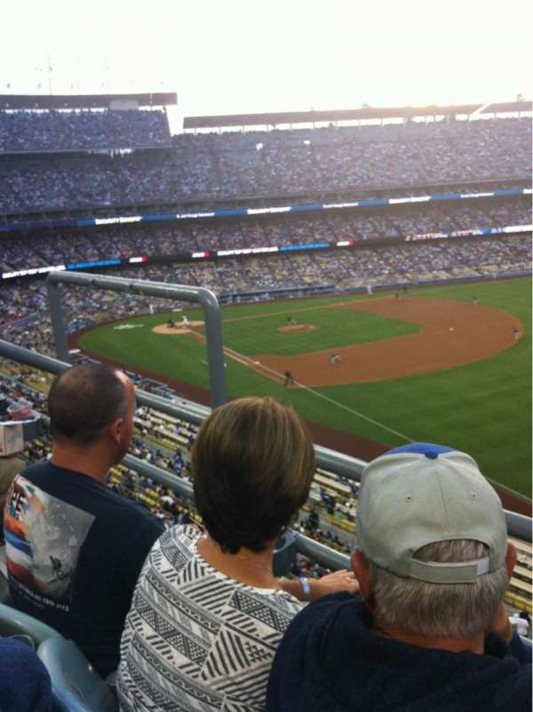 Dodger Stadium, section: 44RS, row: B, seat: 4