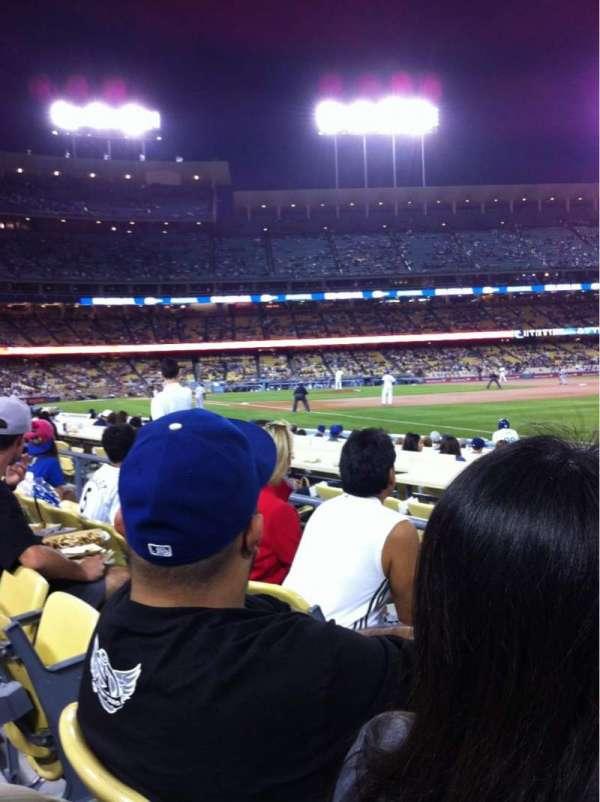 Dodger Stadium, section: 42FD, row: C, seat: 3