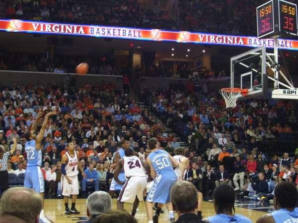 John Paul Jones Arena, section: 102, row: B, seat: 19