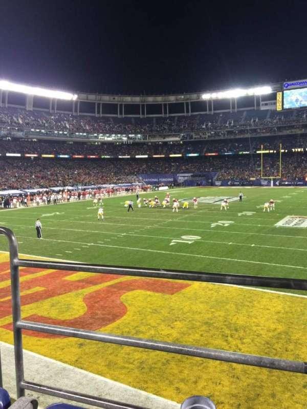 SDCCU Stadium, section: P55, row: B, seat: 3