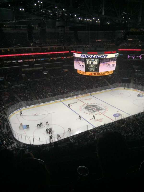 Staples Center, section: 304, row: 9, seat: 11