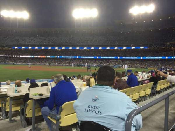 Dodger Stadium, section: 39FD, row: A, seat: 1