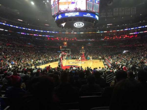 Staples Center, section: 106, row: 9, seat: 11