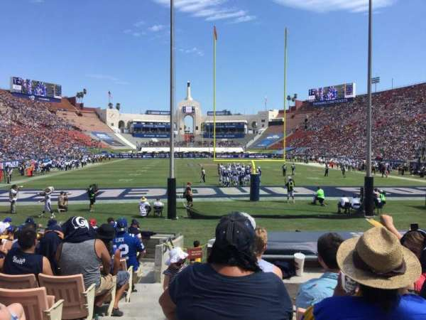 Los Angeles Memorial Coliseum, section: 15H, row: 13, seat: 101