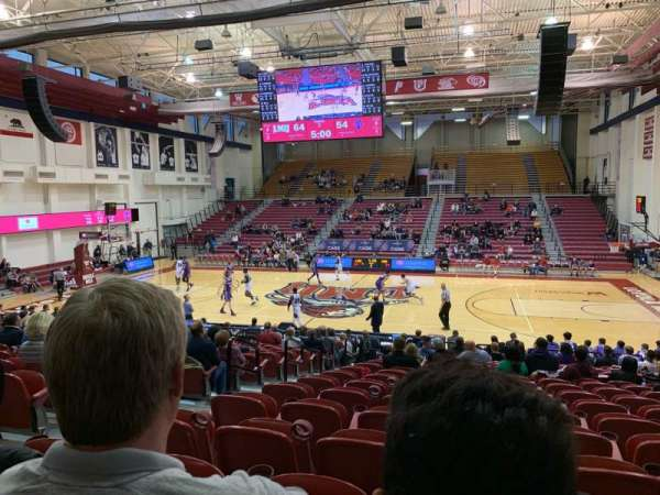 Gersten Pavilion, section: 104, row: T, seat: 12