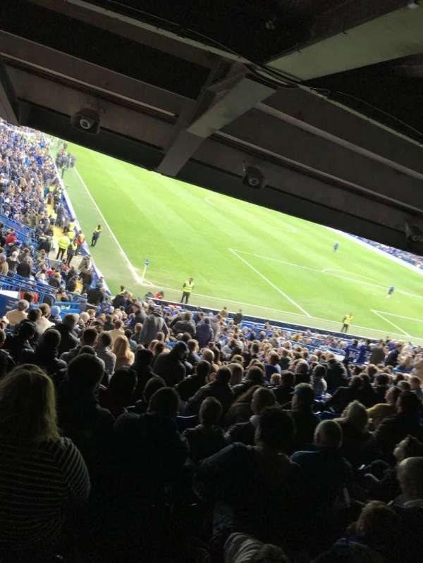 Stamford Bridge, section: Matthew Harding Lower, row: Z