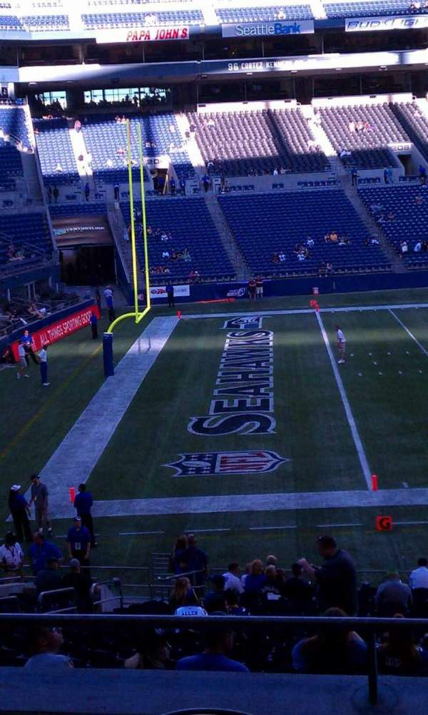 CenturyLink Field, section: 240, row: C, seat: 5