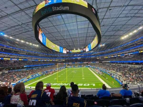 SoFi Stadium, section: 208, row: 5, seat: 6