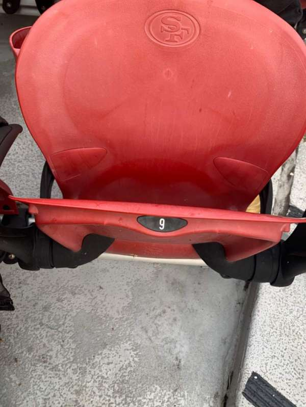 Levi's Stadium, section: 124, row: 1, seat: 9