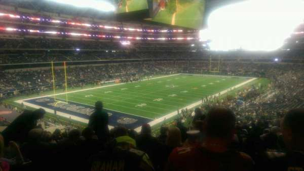 AT&T Stadium, section: 243, row: 15, seat: 10