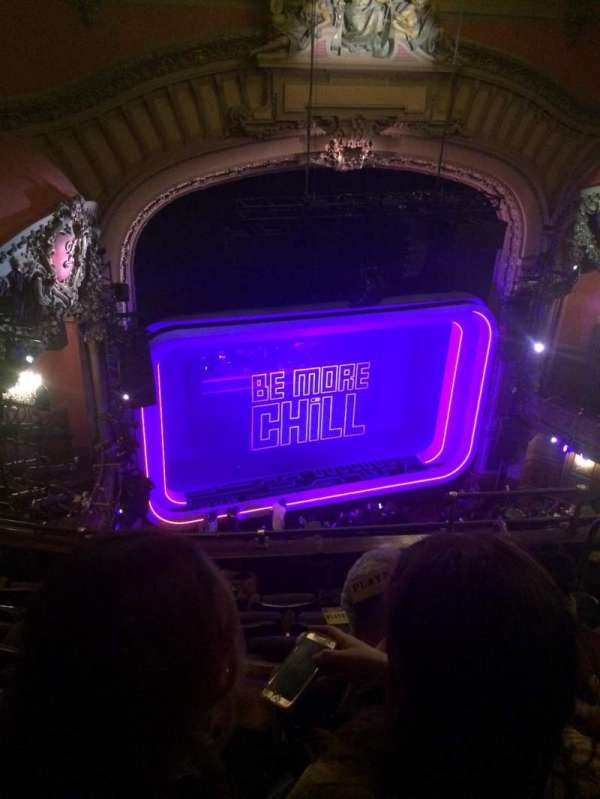 Lyceum Theatre (Broadway), section: Balcony L, row: F, seat: 11