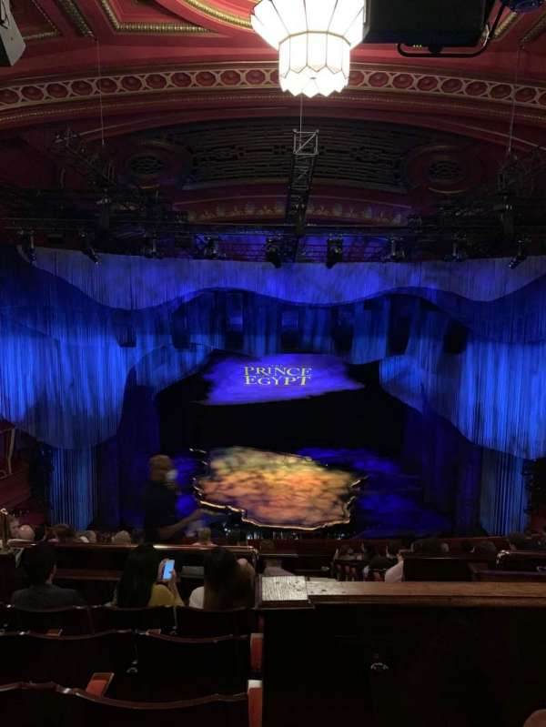 Dominion Theatre, section: Circle, row: M, seat: 27