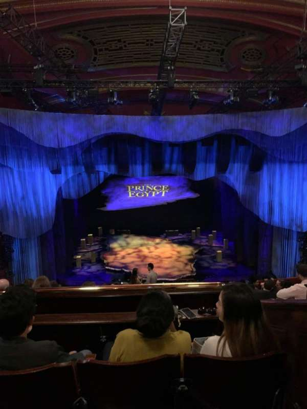 Dominion Theatre, section: Circle, row: K, seat: 26