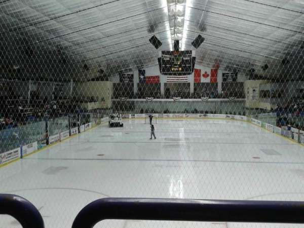 Nytex Sports Centre, section: H, row: 1, seat: 11