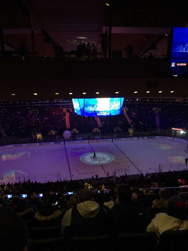 Madison Square Garden, section: 210, row: 18, seat: 13