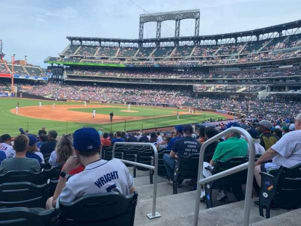 Citi Field, section: 126, row: 22, seat: 2
