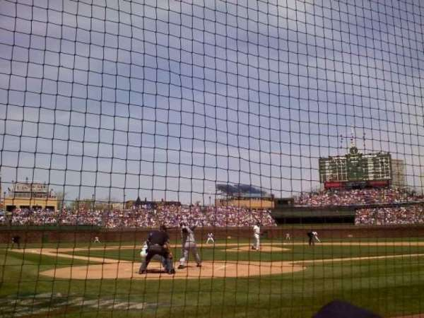 Wrigley Field, section: AA19, row: 2, seat: 9