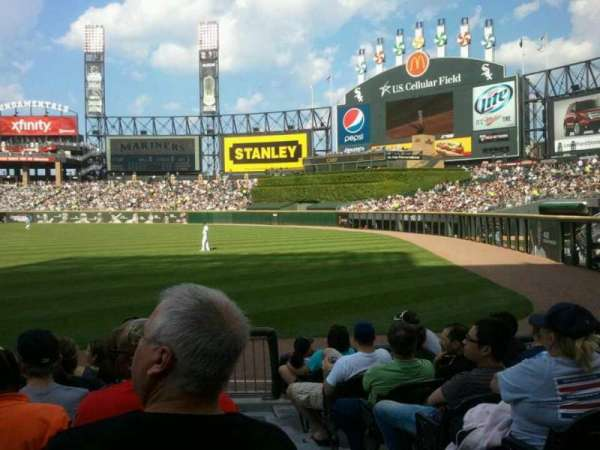 Guaranteed Rate Field, section: 112, row: 8, seat: 1