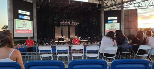 MidFlorida Credit Union Amphitheatre, section: 13, row: C, seat: 6
